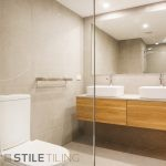 complete bathroom renovation of the bathroom, ensuite and laundry by professional bathroom renovators